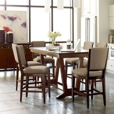 Clearance Kincaid Furniture Elise Stella 5 Piece Counter Height Dining Set OVFN052009