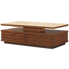 Clearance Tommy Bahama Ocean Club Solstice Cocktail Table OVFCR031876