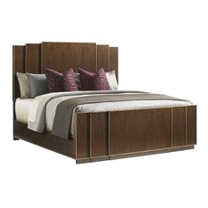 Clearance Lexington Tower Place Fairmount Queen Panel Bed OVFCR031847