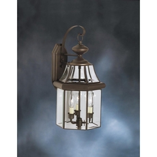 Clearance Kichler Embassy Row Outdoor Wall Lantern OVFB021806