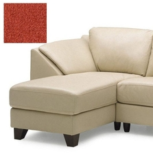 Clearance Palliser Cato Left Hand Facing Chaise in Bela Sangria Fabric OVFB021810