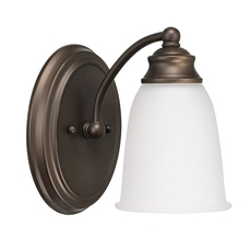Clearance Capital Lighting Signature 1 Light Sconce OVFB101805
