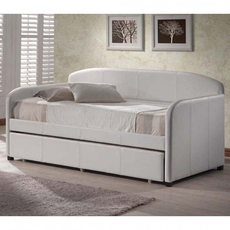 Clearance Hillsdale Furniture Springfield Daybed in White OVFB121705