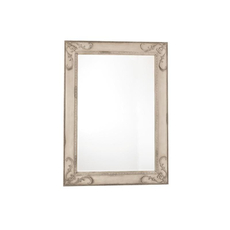 Schnadig Furniture Empire II Rectangular Mirror in Parchment OVFB121730