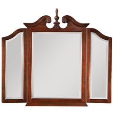 Clearance Kincaid Carriage House Tri-View Pediment Mirror OVFCR0418003