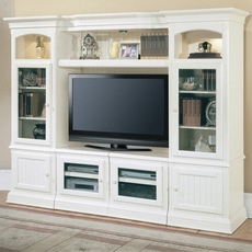 Clearance Parker House Hartford Entertainment Center with Expandable TV Console OVFCR0418103