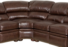 Clearance Bradington Young Reid 4 Piece Sectional OVFN011839