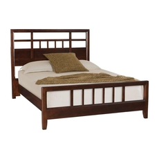 Clearance American Drew Tribecca Queen Slat Bed OVFN091819