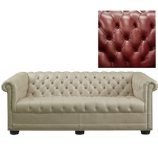 Clearance Leathercraft Churchill 88 Inch Sofa OVFN101905