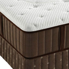 Stearns and Foster Latex San Bernabe Firm Queen Mattress Set OVMB0717124 - Clearance Model ''As-Is''