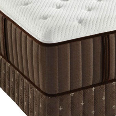 Stearns and Foster Latex Contra Costa County Cushion Firm Queen Mattress Set OVMB0717126 - Clearance Model ''As-Is''