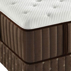 Stearns and Foster Latex Clement Hills Cushion Firm Queen Mattress Set OVMB0717127 - Clearance Model ''As-Is''