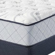 Serta Perfect Sleeper Belltower Plush Queen Mattress Set OVMB071778
