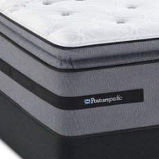 Sealy Posturepedic Select Yonge Street Firm Euro Pillow Top Cal King Mattress Set SDMB031744