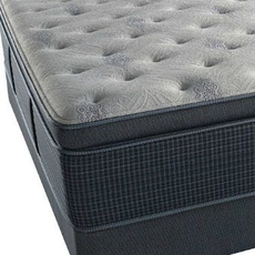 Simmons Beautyrest Silver Lydia Manor III Luxury Firm Pillow Top Cal King Mattress Set SDMB061706