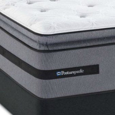 Sealy Posturepedic Select Yonge Street Plush Euro Pillow Top Queen Mattress Set SDMB061708