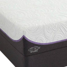 Sealy Optimum Inspiration Gold Plush Queen Mattress Set SDMB061732 - Scratch and Dent Model ''As-Is''