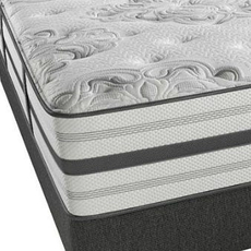 Simmons Beautyrest Recharge World Class Phillipsburg II Plush Queen Mattress Set SDMB071704