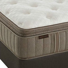 Stearns & Foster Estate Addison Grace Luxury Plush Euro Pillow Top Queen Mattress Set SDMB081706 - Scratch and Dent Model ''As-Is''
