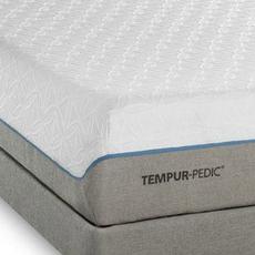 TEMPUR-Cloud Supreme Breeze King Mattress Set SDMB081729 - Scratch and Dent Model ''As-Is''
