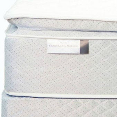 Spring Air Back Supporter Four Seasons Athena Plush Pillowtop Queen Mattress Set SDMB081760