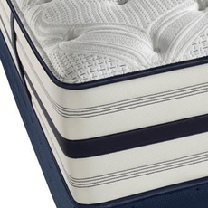 Simmons Beautyrest Recharge World Class Phillipsburg II Plush Queen Mattress Set SDMB081765