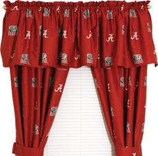 College Covers University of Alabama Curtain Panel 63 Inch
