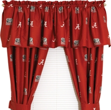 College Covers University of Alabama Curtain Panel 84 Inch