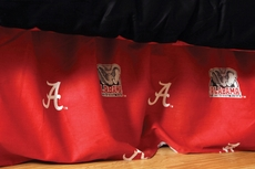 College Covers University of Alabama Dust Ruffle