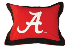 College Covers University of Alabama Quilted Sham