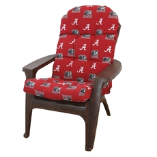 College Covers University of Alabama Adirondack Cushion