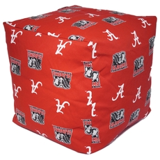 College Covers University of Alabama Cube Cushion