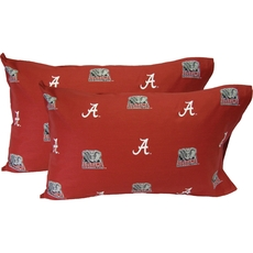 College Covers University of Alabama Pillowcase Pair