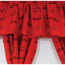 College Covers University of Arkansas Curtain Panel 63 Inch
