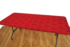 College Covers University of Arkansas 8 Foot Table Cover