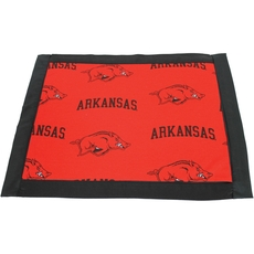 College Covers University of Arkansas Placemat with Border Set of 4
