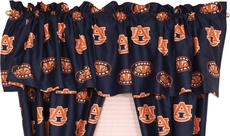 College Covers Auburn University Curtain Valance