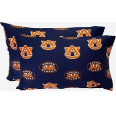 College Covers Auburn University King Pillowcase Pair
