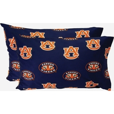 College Covers Auburn University Pillowcase Pair