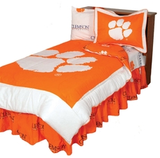 College Covers Clemson University Comforter Set