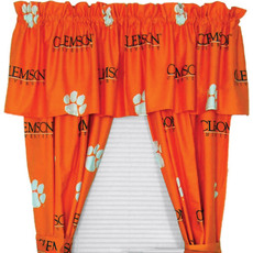 College Covers Clemson University Curtain Panel 63 Inch