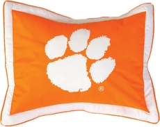College Covers Clemson University Quilted Sham
