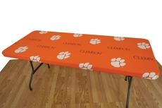 College Covers Clemson University 8 Foot Table Cover