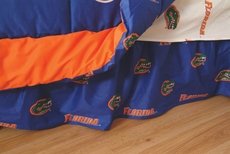 College Covers University of Florida Dust Ruffle