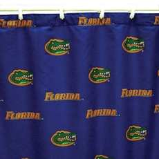 Florida Printed Shower Curtain by College Covers
