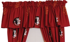 College Covers Florida State University Curtain Valance