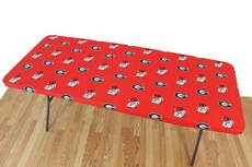 College Covers University of Georgia 6 Foot Table Cover
