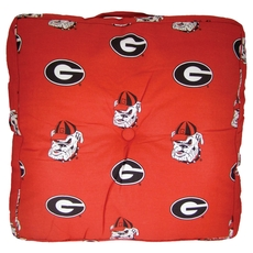 College Covers University of Georgia Floor Pillow