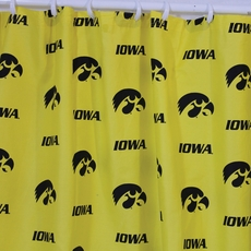 Iowa Printed Shower Curtain by College Covers