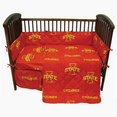 College Covers Iowa State University Crib Set